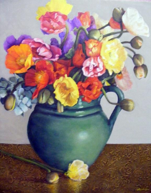2014 Still Life winner Flower Power by Sherrie Rowan