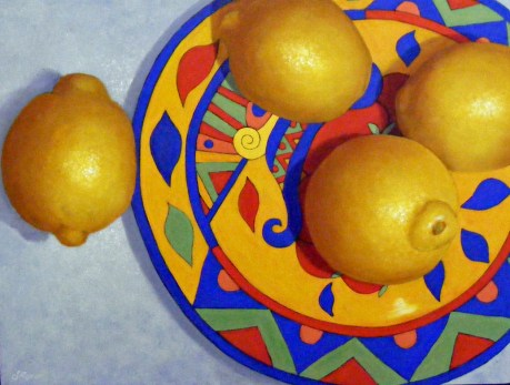 2015 Still Life HC Lemon Yellow by Sherrie Rowan