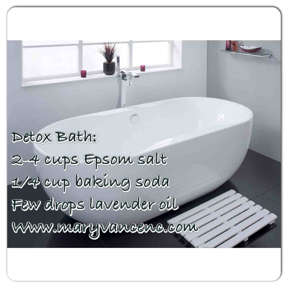 Five Steps to Detox Bathing Bliss