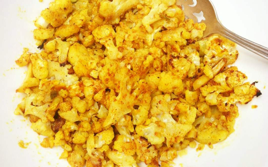 Easy Spicy Cauliflower