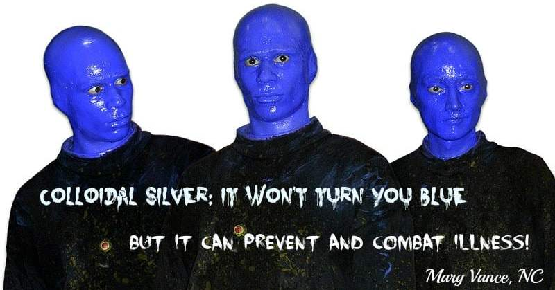 Colloidal Silver: No, It Won't Turn You Blue. Yes, It Can Prevent Illness!
