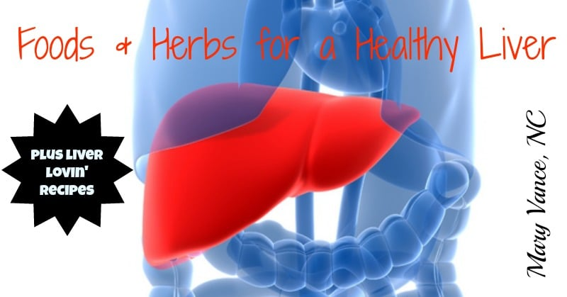Foods & Herbs for a Healthy Liver