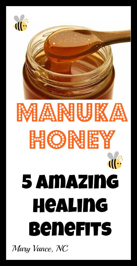 5 Healing Benefits of Manuka Honey  Mary Vance NC
