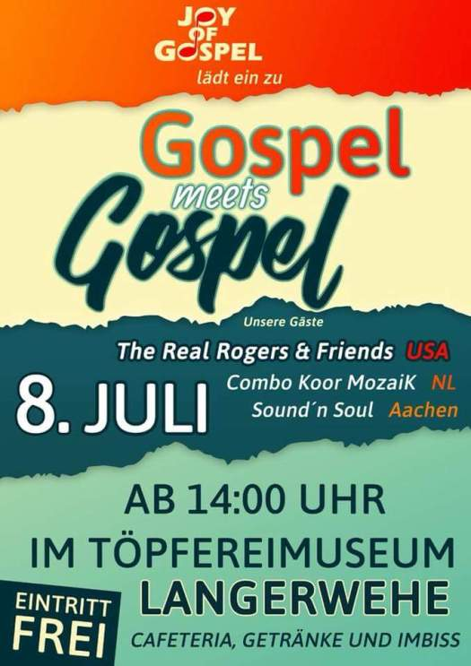 Gospel meets Gospel