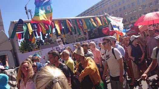 Demo, Berlin 01.08.2020,
