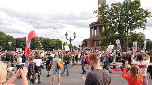 angekommen :) unter der Siegessäule, Berlin 29.08.2020
