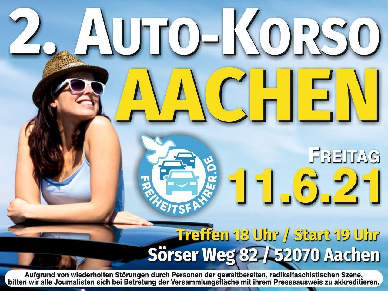 2. Autokorso Aachen