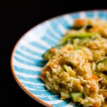 Carrot and ginger basmati risotto