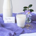 Homemade oat milk / Latte di avena homemade
