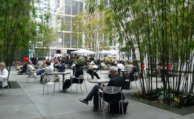 Privately Owned Public Space The Municipal Art Society