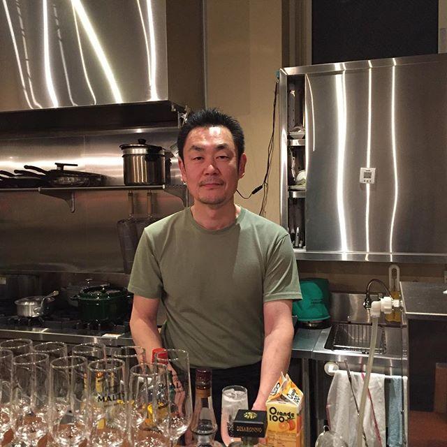 今日は渡辺さんに会いに来ました。僕のコーヒーの基礎を作ってくれた人です。でも元オーケストラのスタッフさんでしたw