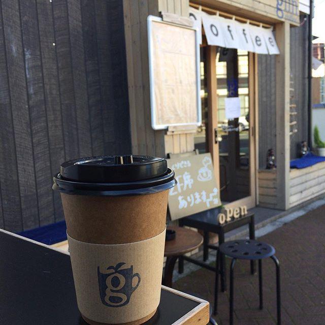 お次はglin coffeeさん。久しぶりの市役所前。#glincoffee