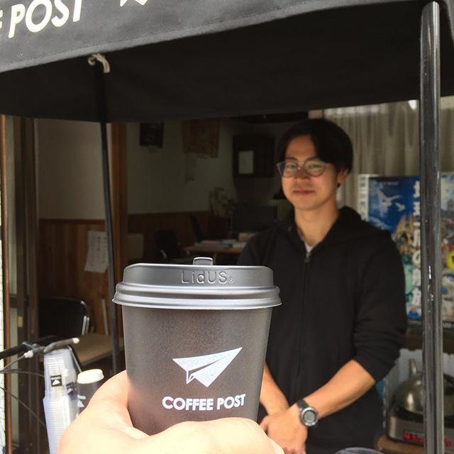あっ 。  川越を歩いていたら、 @coffee__post さんに会ったよ。