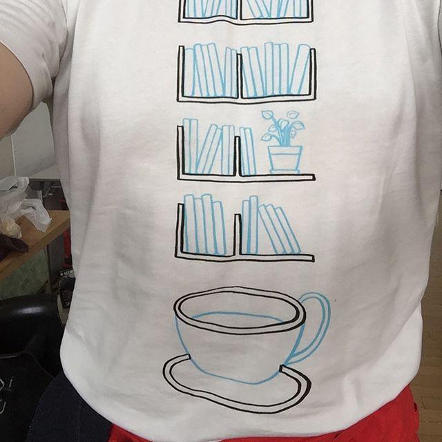 @tanog_anza タノさんから頂いたTシャツで頑張ってます!