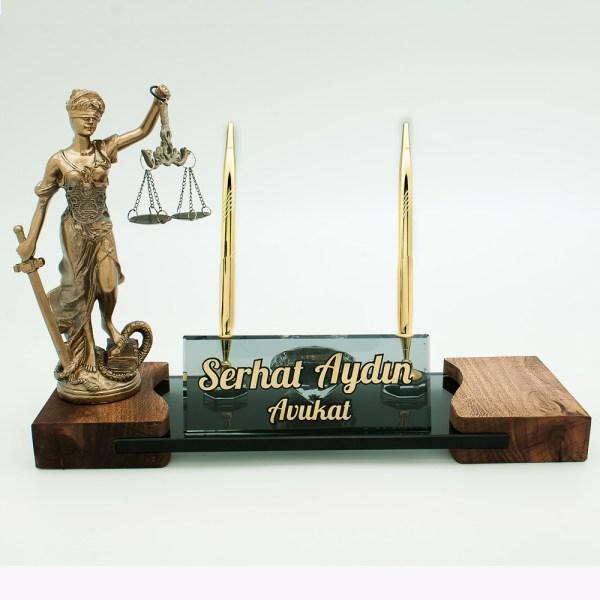 Hakim Savcı Masa İsimlikleri