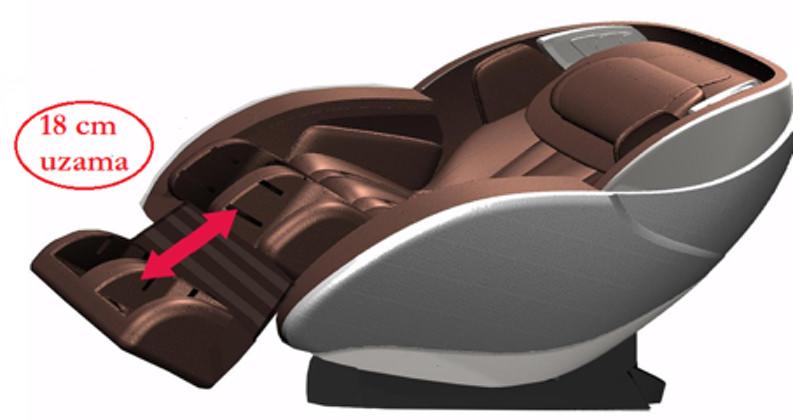 Sensörlü ve elektrikli ayak uzama sistemi