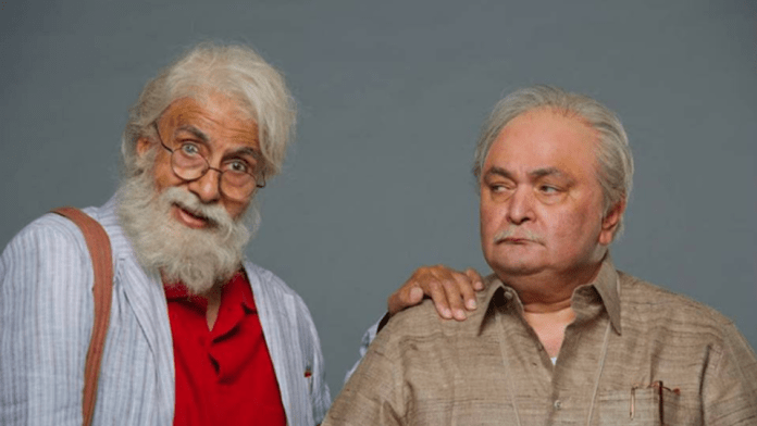 102 not out amitabh bachchab and rishi kapoor