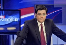 arnab goswami news channel launch