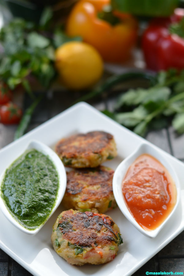 Vegetable aloo paneer tikki V3