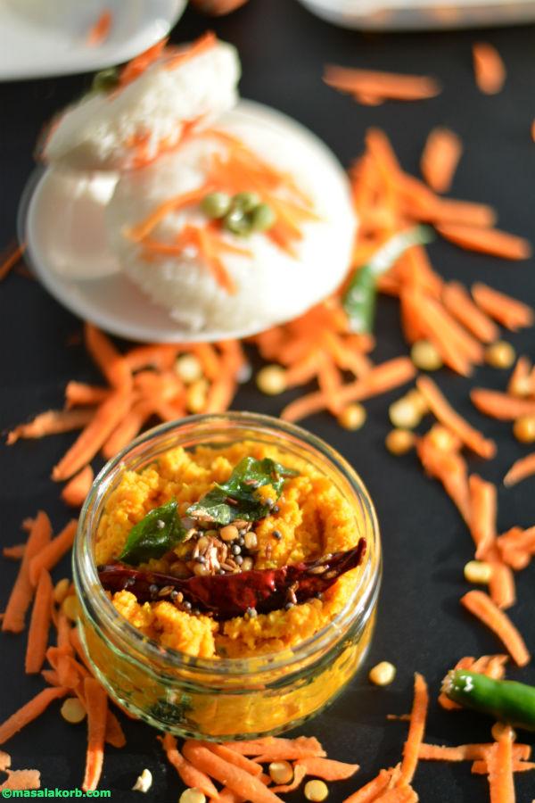 Carrot chutney V2