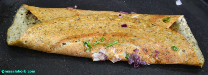 Sprouts dosa
