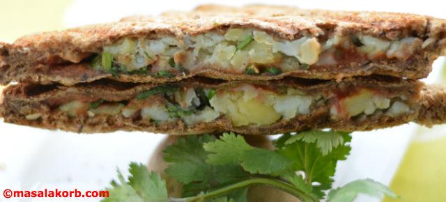 Chaat Style Mashed Potato Toast Sandwich V3
