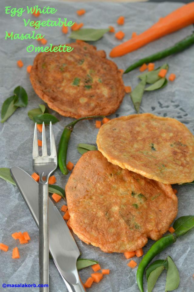 Egg white veggie omeletV1