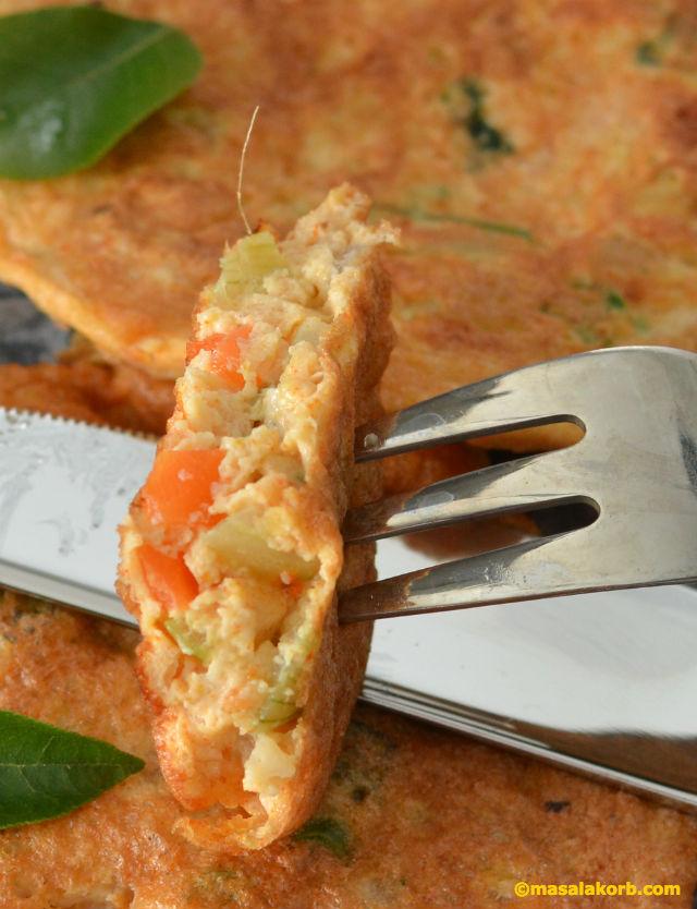 Egg white veggie omeletV4