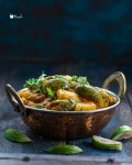 Potato Brinjal Curry Recipe