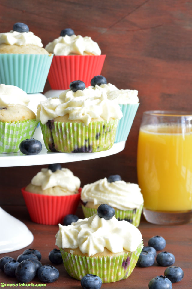 Blueberry Cupcakes With Cream Cheese Frosting V11 Blueberry Cream Cheese Frosting Cupcakes