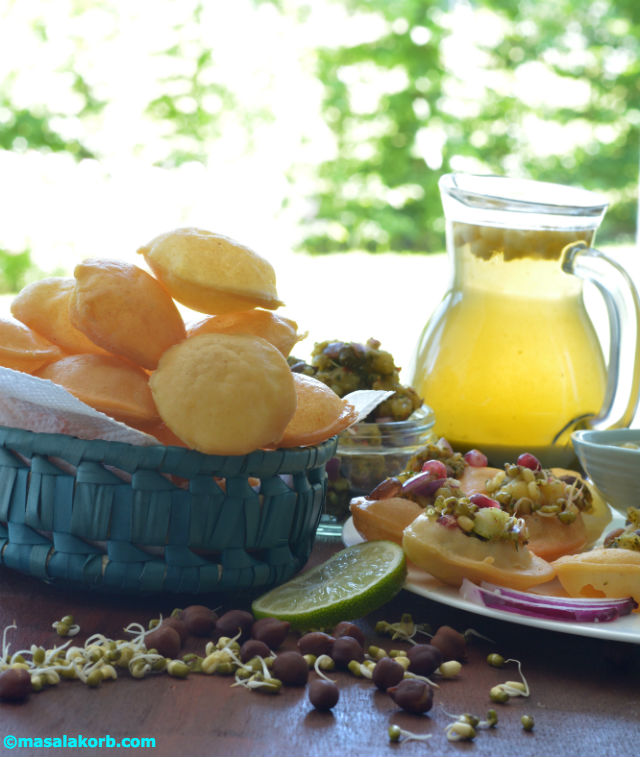 Puri recipe for pani puri