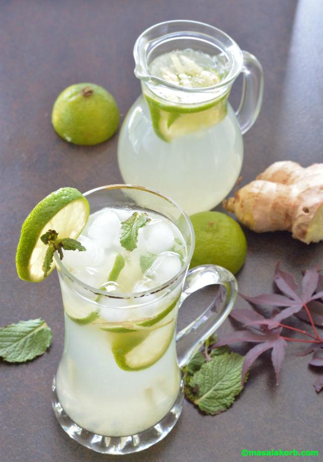 Ginger Lemonade V5