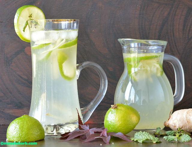 Ginger Lemonade V6