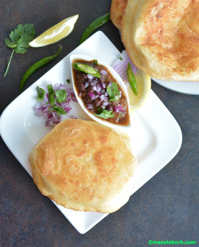 Bhatura recipe without yeast V3