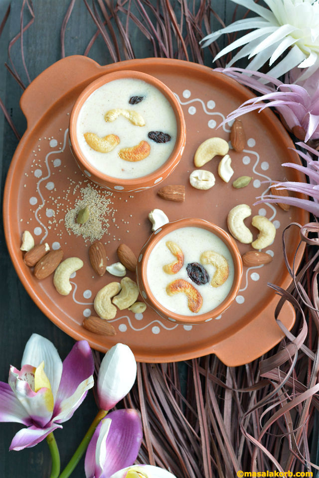 Poppy Seeds Payasam V2
