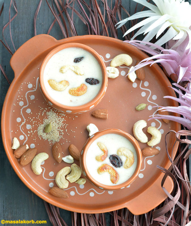 Poppy Seeds Payasam V7