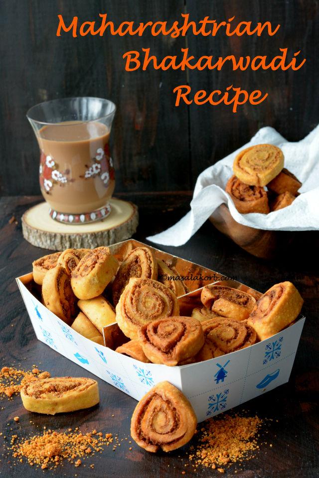 Maharashtrian Bhakarwadi Recipe