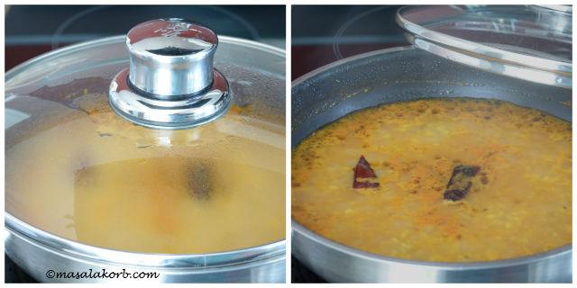 Dry moong dal recipe or Chutti mug ni dal