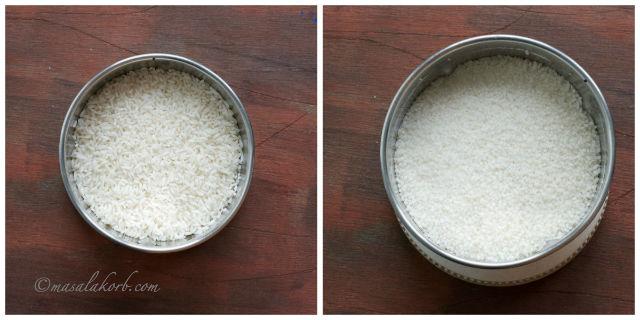 How to prepare rice flour at home   Homemade rice Flour   Pacharisi Maavu Recipe   Biyyam Pindi