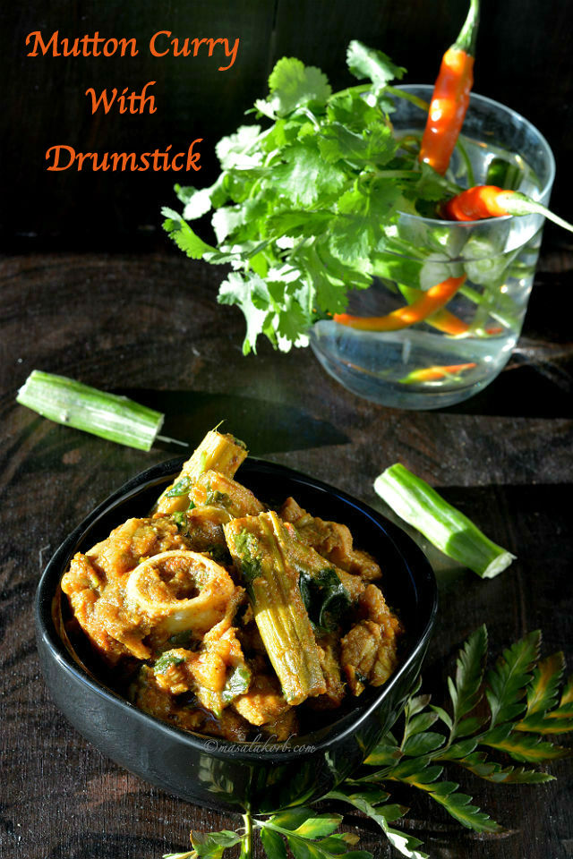 Mutton Curry With Drumstick Mulakkada Mamsam Koora