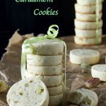 Pistachio Cardamom Cookies | Homemade Eggless Biscuits | Soft Pistachio Cookies | Shortbread Biscuit Recipe | Quick Butter Biscuit Recipe