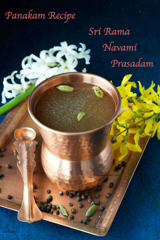 Panakam recipe how to make panakam for sri rama navami masalakorb panakam recipe how to prepare panakam for sri rama navami forumfinder Image collections