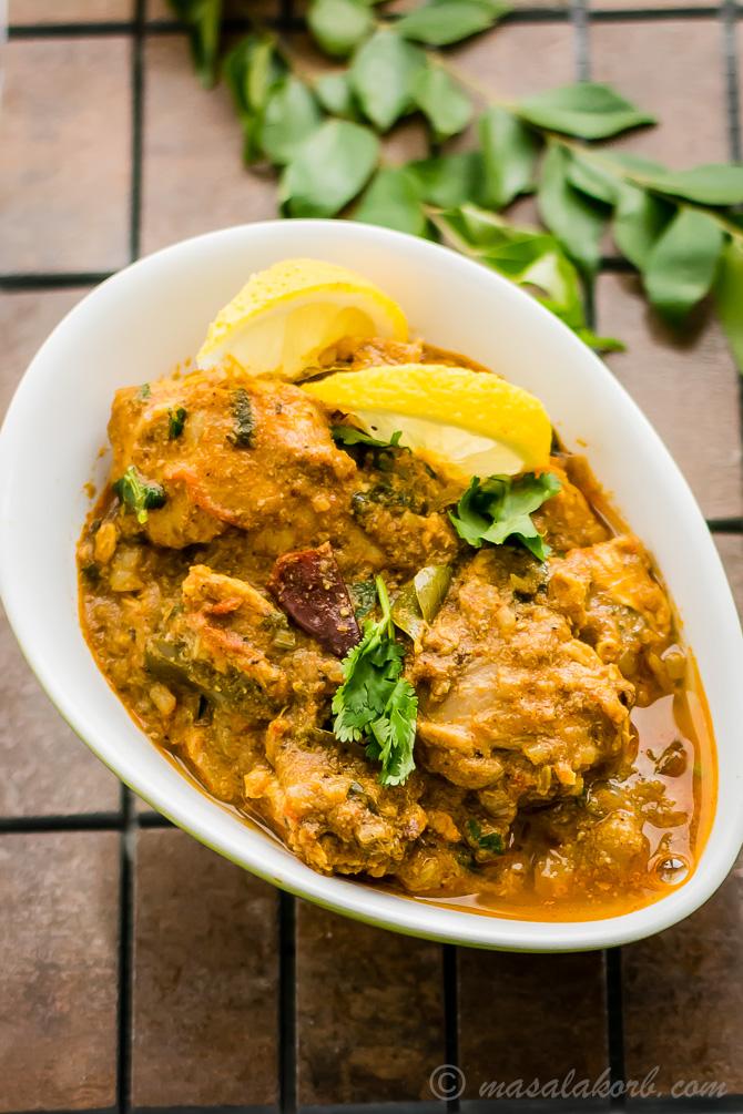 Spicy Chettinad Chicken Curry Recipe, Chettinad Chicken Kuzhambu