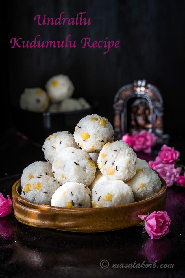 Undrallu Kudumulu Recipe for Vinayaka Chavithi