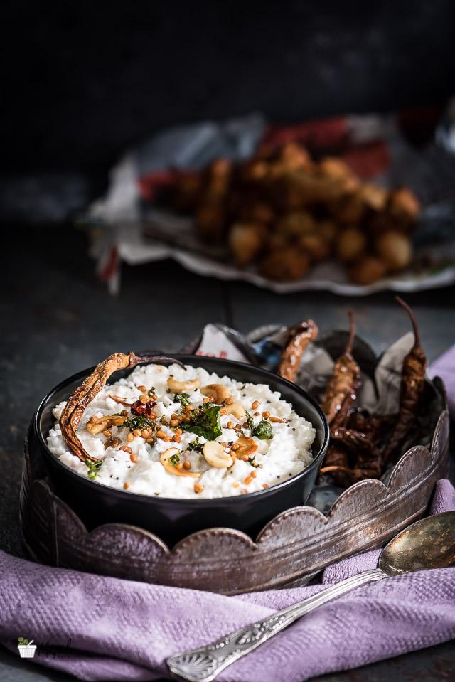 Curd Rice Recipe South Indian Style, How to make Thayir Sadam