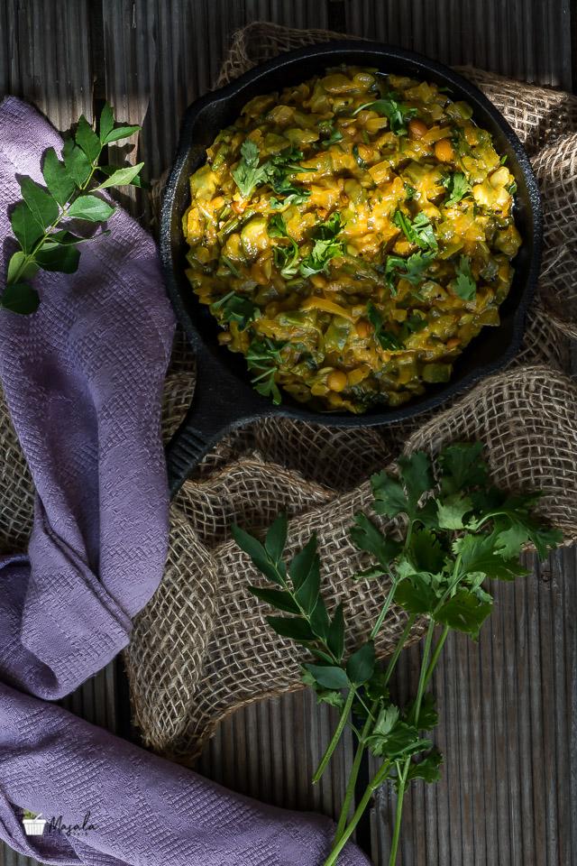Beerakaya Paalu Curry, Turai Recipe South Indian