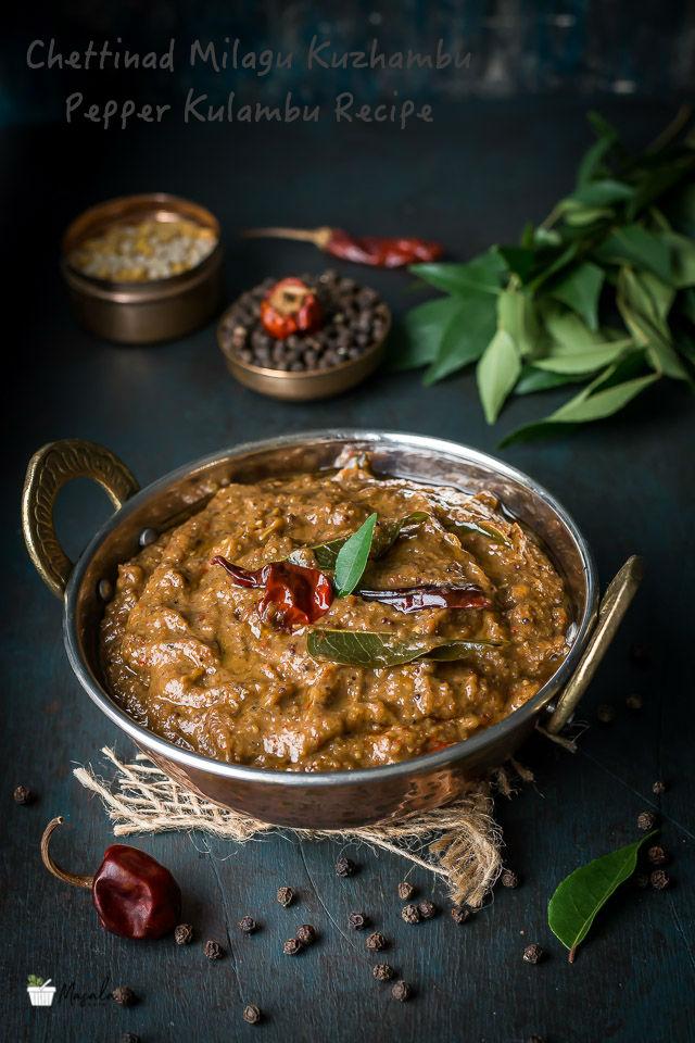 Chettinad Milagu Kuzhambu, Pepper Kulambu Recipe