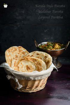 Kerala Style Parotta