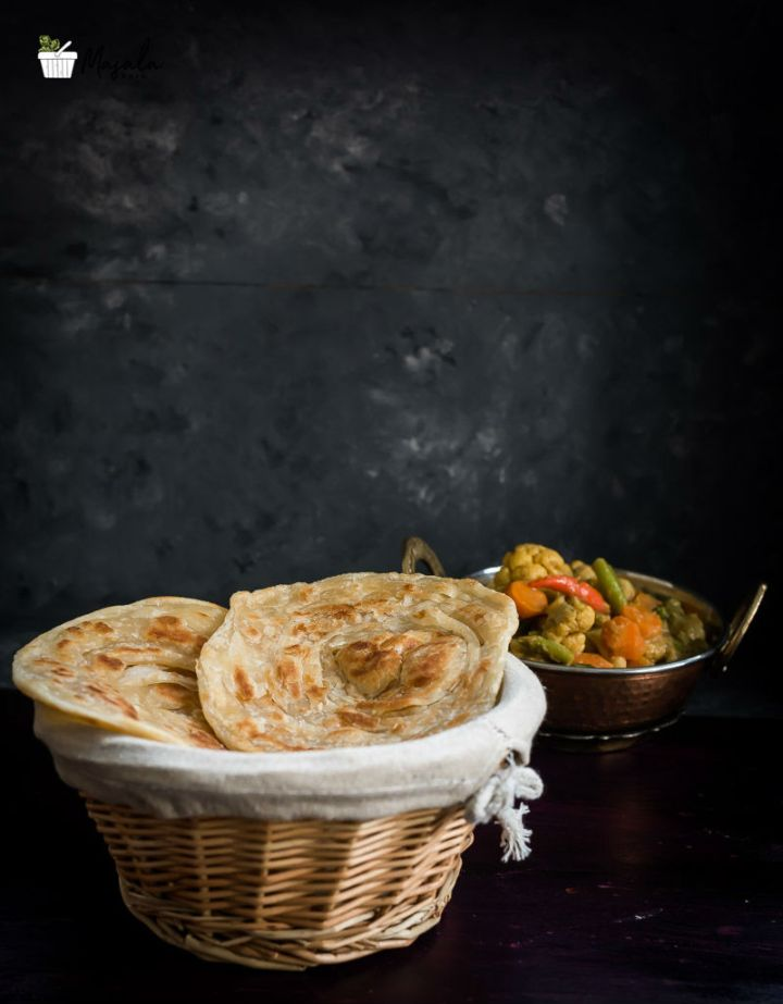 Layered Paratha Recipe