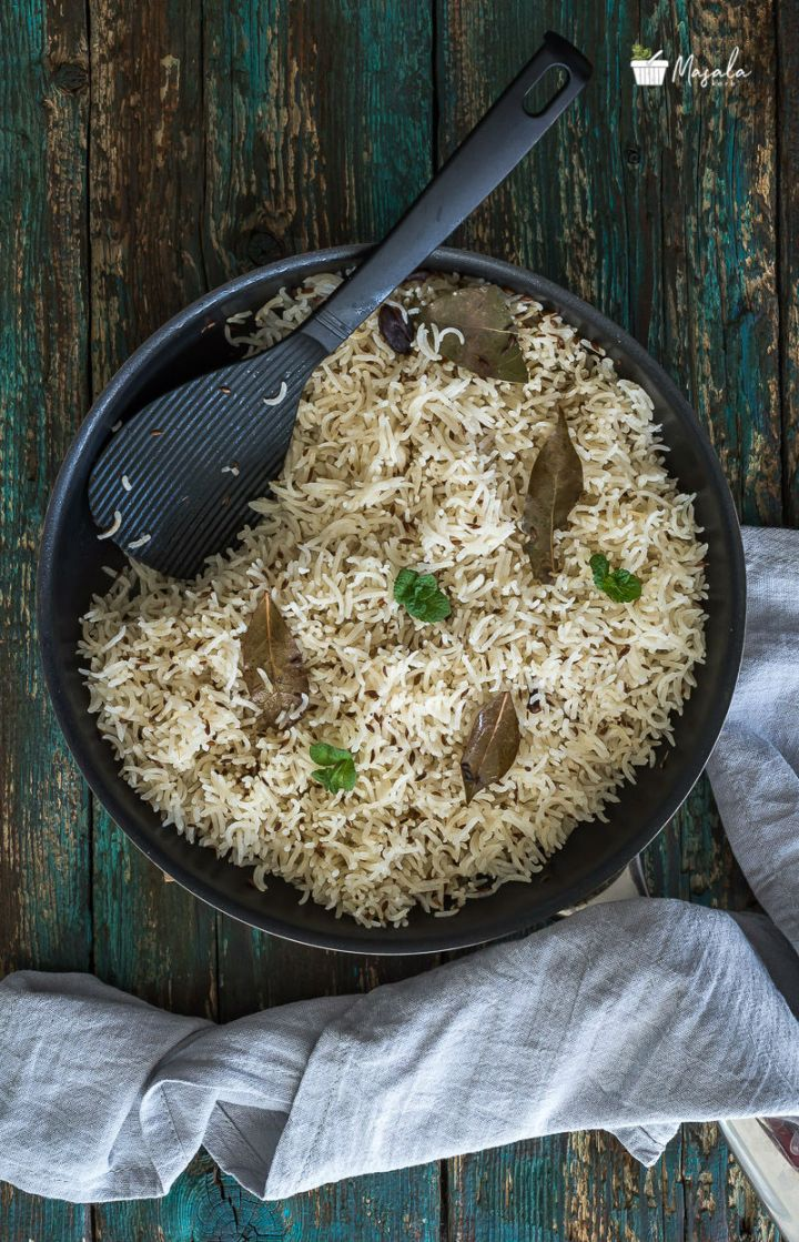 Quick Jeera Rice Recipe Step by Step with Pictures